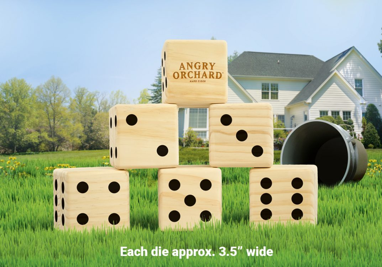 giant lawn dice like yardzee